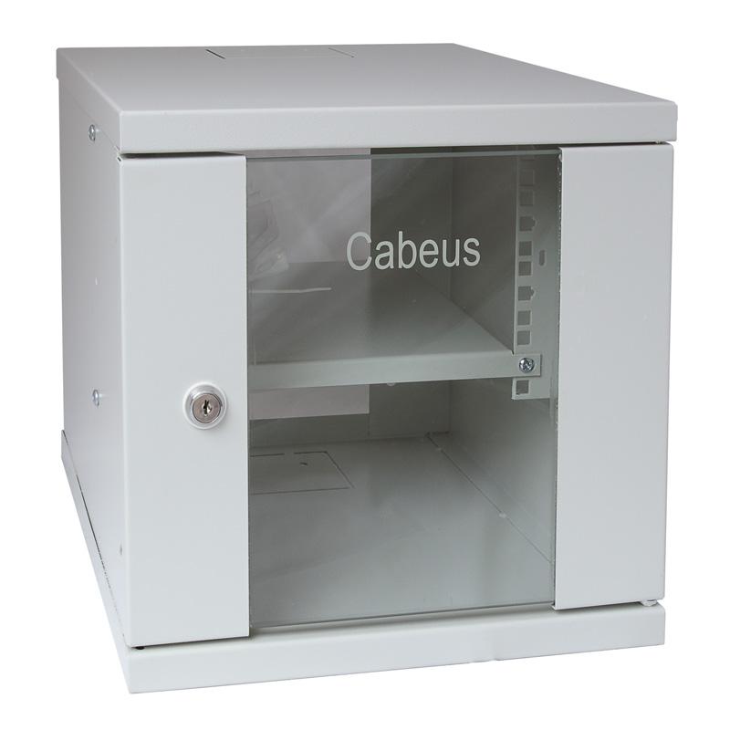 """Шкаф телекоммуникационный настенный 10"""" Cabeus WSC-4U"""
