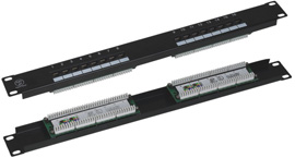 Патч-панель на 16 портов RJ-45, 5e   WT-2064-16P