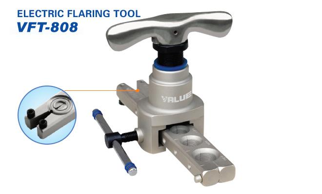 Купить Набор для развальцовки медных труб Value  VFT-808-I-N (без кейса)