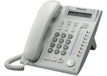 Цифровой системный телефон Панасоник KX-DT321RUW