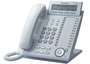 Цифровой системный телефон  Панасоник KX-DT333RUW