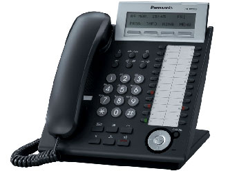 Купить Цифровой системный телефон Panasonic KX-DT333RU_B