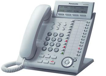 Цифровой системный телефон  Панасоник KX-DT343RUW