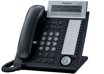 Цифровой системный телефон Панасоник KX-DT343RU_B