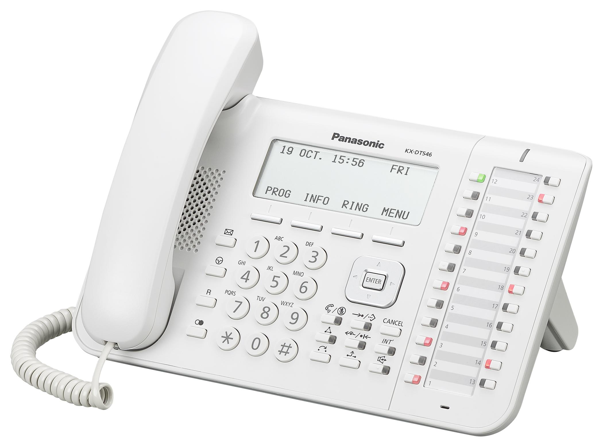 Цифровой системный телефон Панасоник KX-DT546RU