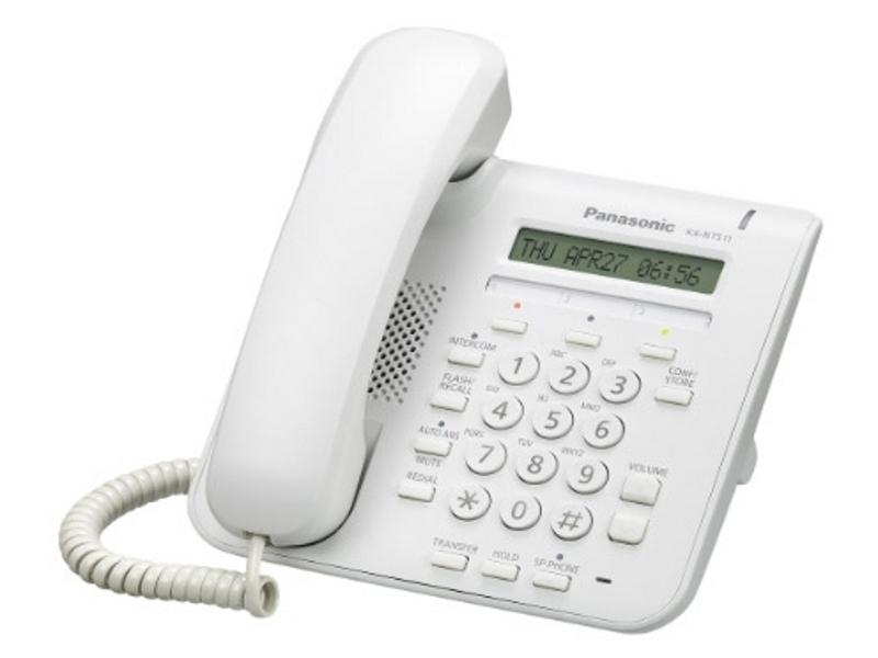 IP-системный телефон Панасоник KX-NT511PRU