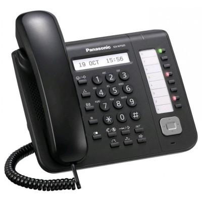 IP-системный телефон Панасоник KX-NT551RU-B