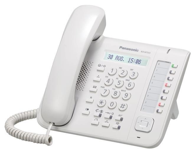IP-системный телефон Панасоник KX-NT551RU