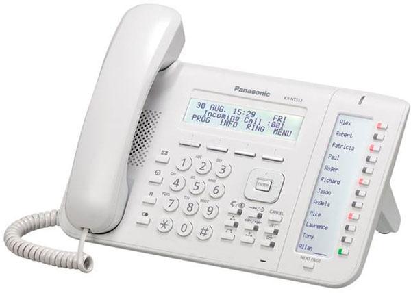 IP-системный телефон Панасоник KX-NT553RU