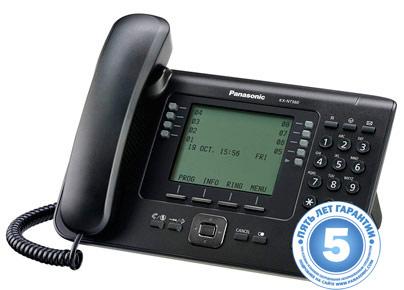 IP-системный телефон Панасоник KX-NT560RUB