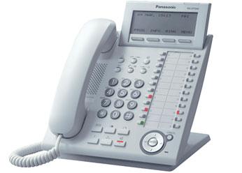 Цифровой системный телефон Панасоник KX-DT346RUW