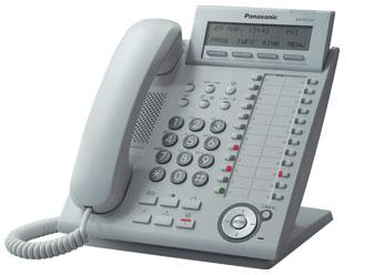 Купить IP-Системный телефон  Panasonic KX-NT343RU