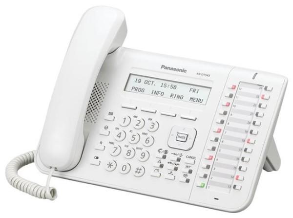 Цифровой системный телефон Панасоник KX-DT543RUW