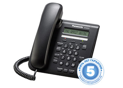 IP-Системный телефон  Панасоник KX-NT511ARUВ