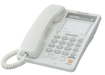 Телефон  Панасоник KX-TS2365RUW (белый)