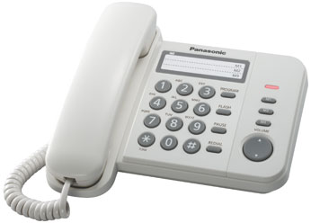 Купить Телефон  Panasonic KX-TS2352RUW (белый)