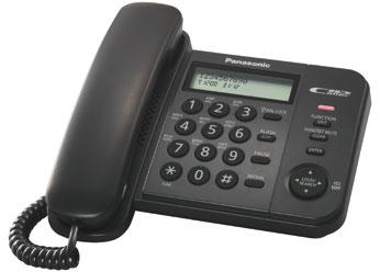 Телефон  Панасоник  KX-TS2356RUB (черный)