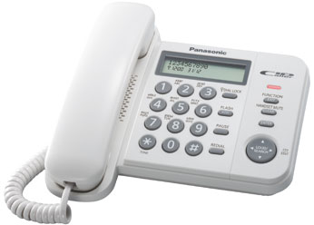 Телефон  Панасоник  KX-TS2356RUW (белый)