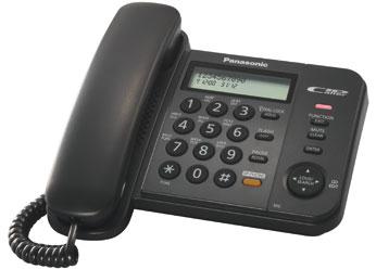 Телефон  Панасоник KX-TS2358RUB (черный)