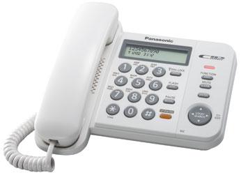Телефон  Панасоник KX-TS2358RUW (белый)