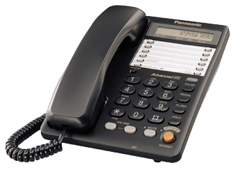 Телефон  Панасоник KX-TS2365RUB (черный)