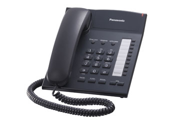 Телефон  Панасоник KX-TS2382RUB (черный)