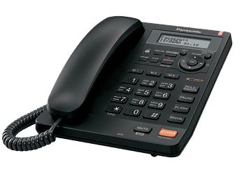Телефон  Панасоник  KX-TS2570RUB (черный)