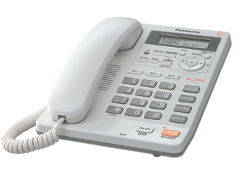 Телефон  Панасоник  KX-TS2570RUW (белый)