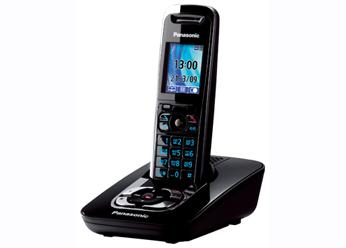 Радиотелефон DECT Панасоник  KX-TG8421RUB (черный)