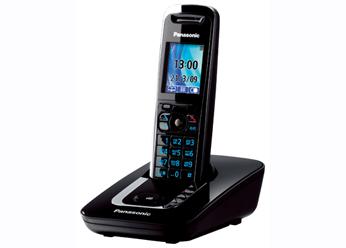 Радиотелефон DECT Панасоник KX-TG8411RUB (черный)