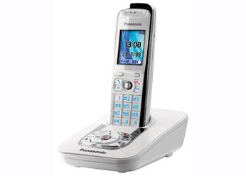 Радиотелефон DECT Панасоник KX-TG8411RUW (белый)