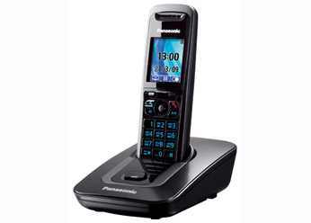 Радиотелефон DECT Панасоник KX-TG8411RUT (темно-серый металлик)