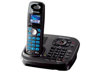Радиотелефон DECT Панасоник  KX-TG8041RUT (темно-серый металлик)