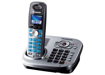 Радиотелефон DECT Панасоник KX-TG8041RUM (серый металлик)