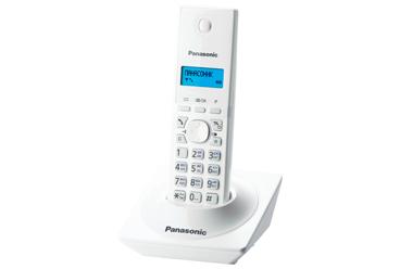 Купить Радиотелефон DECT Panasonic KX-TG1711RUW (белый)