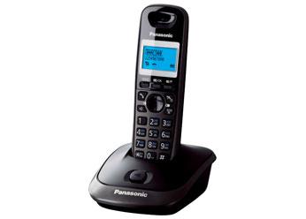 Радиотелефон DECT Панасоник KX-TG2511RUT (темно-серый металлик)