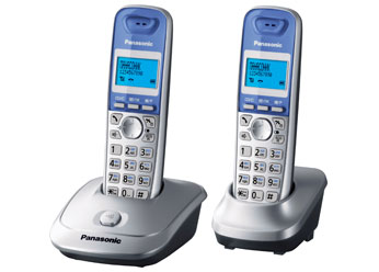 Радиотелефон DECT Панасоник KX-TG2512RUS (серебристый)