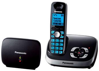 Радиотелефон DECT Панасоник KX-TG6541RUB (черный)