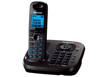 Радиотелефон DECT Панасоник KX-TG6561RUT (темно-серый металлик)