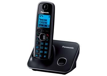 Радиотелефон DECT Панасоник KX-TG6611RUB (черный)