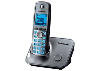 Радиотелефон DECT Панасоник KX-TG6611RUM (серый металлик)