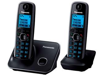 Радиотелефон DECT Панасоник KX-TG6612RUB (черный)
