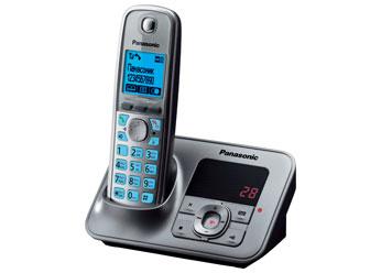 Радиотелефон DECT Панасоник KX-TG6621RUM (серый металлик)