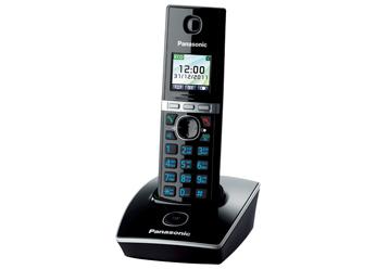 Радиотелефон DECT Панасоник KX-TG8051RUB (черный)