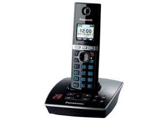 Радиотелефон DECT  Панасоник KX-TG8061RUB (черный)