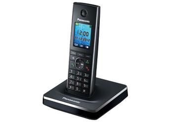 Радиотелефон DECT Панасоник KX-TG8551RUB (черный)