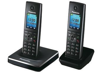 Радиотелефон DECT Панасоник  KX-TG8552RUB (черный)