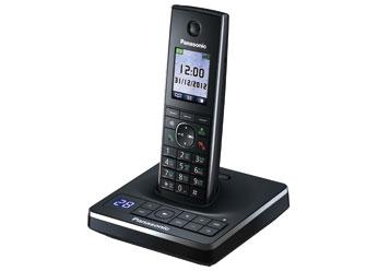 Радиотелефон DECT Панасоник KX-TG8561RUB (черный)