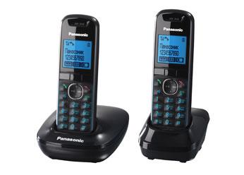 Радиотелефон DECT Панасоник KX-TG5512RUB (черный)