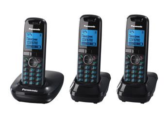 Радиотелефон DECT Панасоник KX-TG5513RUB (черный)